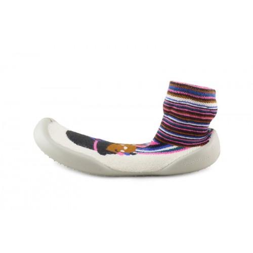 Zapatilla para casa calcetin muñeca etnica Collegien