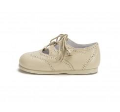 Zapato inglesito beige oscuro Jeromín