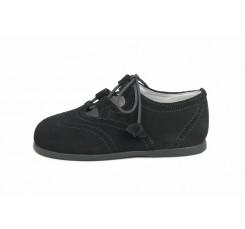 Zapato inglesito ante gris Jeromín
