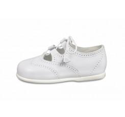 Zapato inglesito blanco Jeromín
