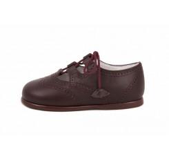 Zapato inglesito burdeos Jeromín