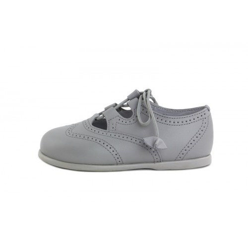 Zapato inglesito gris claro Jeromín