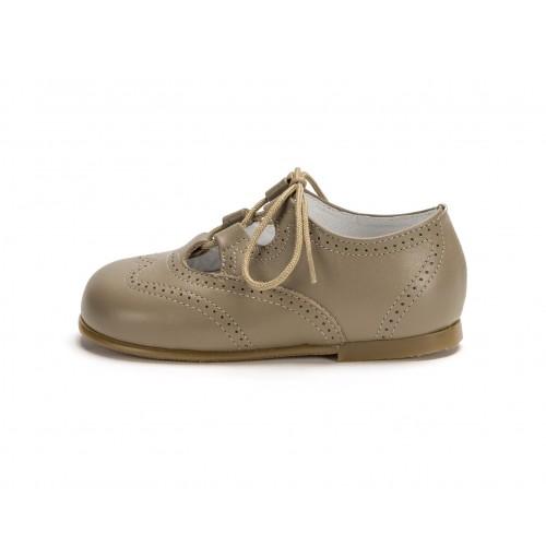 Zapato inglesito piel topo Jeromin