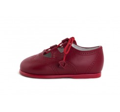 Zapato inglesito guinda Jeromín