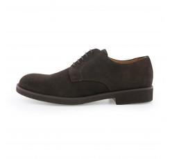 Zapato de ante marrón con cordón Pielsa