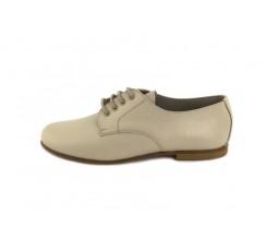 Zapato ingles piel beige oscuro Jeromín