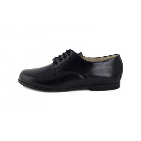 Zapato ingles piel azul brillante Jeromín