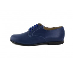 Zapato ingles piel azulón Jeromín