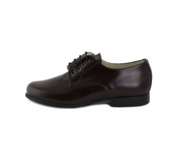Zapato ingles piel marrón brillante Jeromín