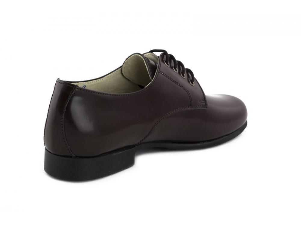 Ingles Marrón Jeromín Piel Zapato Brillante uJ3FT1lKc