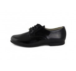 Zapato ingles piel negro brillante Jeromín
