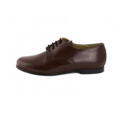 Zapato ingles piel cuero brillante Jeromín