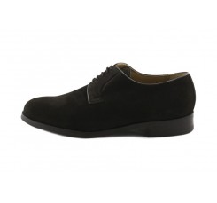 Zapato en ante marrón con cordón liso Gil´s clasic para Jeromin