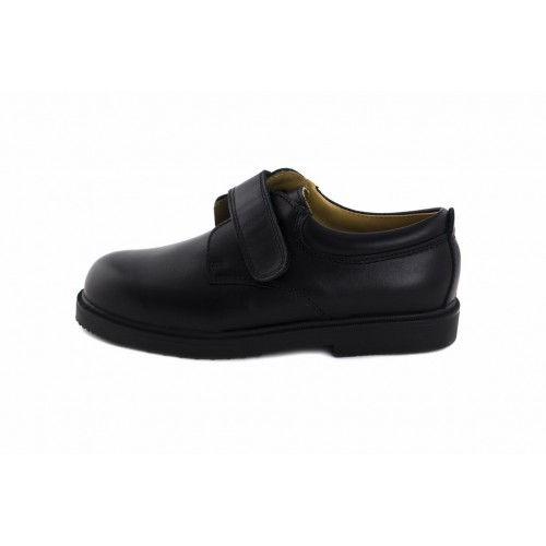 Zapato velcro piel negro 61 Jeromín