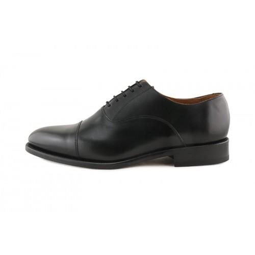 Zapato de cordón piel negro para caballero Jeromin