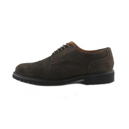 Zapato picado ante marron ligero Jeromin