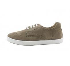 Zapato picado ante fango cordón y piso blanco Thousand para Jeromin