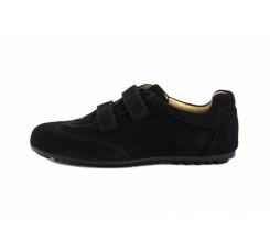 Zapato deportivo ante negro con velcro Hoganvelfi Jeromín