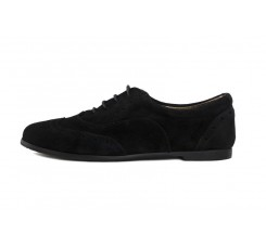 Zapato ingles ante picado negro Thousand para Jeromín