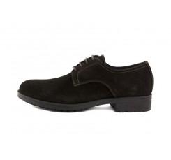 Zapato ante marrón con cordón LumberJack
