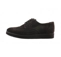 Zapato picado ante marrón cordón Thousand para Jeromin